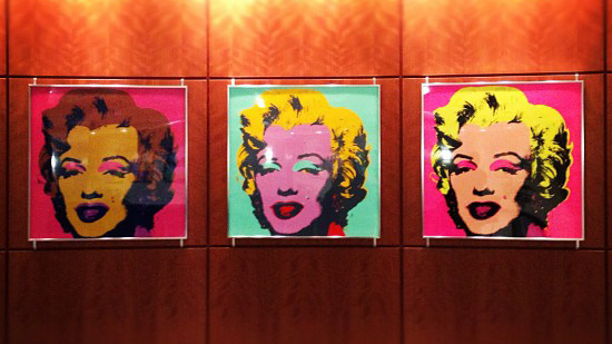 """Andy Warhol - Marilyn Pop Art"" by Kelly DeLay licensed under CC BY 2.0"