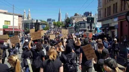 Protest in SF