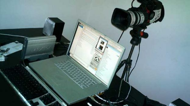 """""""The most expensive webcam of all times?"""" by Jakob Montrasio licensed under CC BY 2.0"""